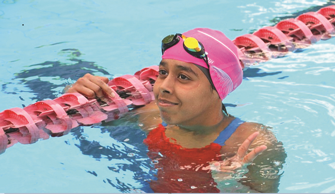 Swimmer Junaina to take part in Olympics