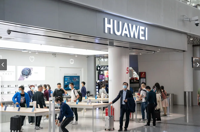 Huawei Quarterly Sales Slump as Sanctions Hit Phone Business