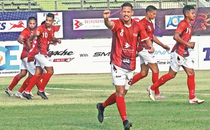 Kings tear apart Baridhara in BPL 2nd leg opener