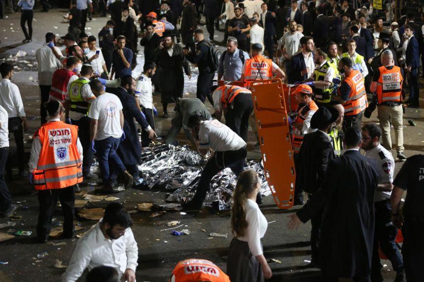 Dozens killed in stampede at Israel religious festival, medics say