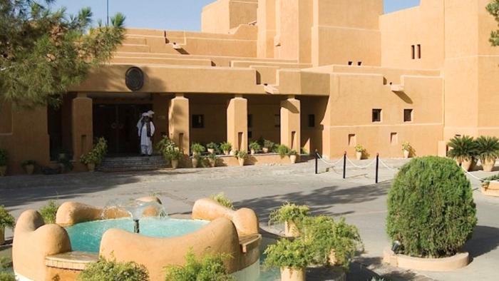 Five dead, 12 injured as Taliban terror blast rips through luxury hotel