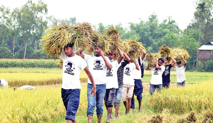 Members of Sheikh Russell Jatiya Shishu Kishore Parishad
