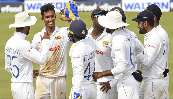 Bangladesh staring at defeat as Jayawickrama takes six to trigger Tigers' collapse
