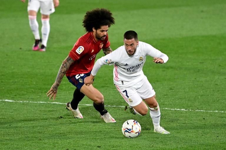 Hazard starts as Real Madrid defeat Osasuna, Atleti scrape past Elche