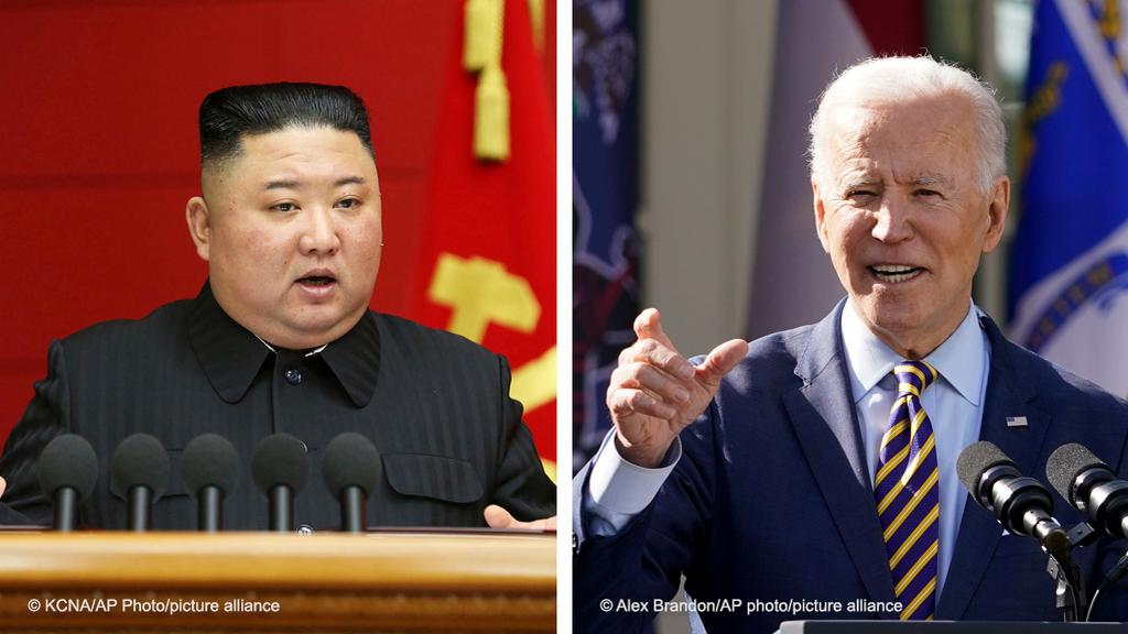 North Korea accuses Joe Biden of pursuing hostile policy over its nuclear programme