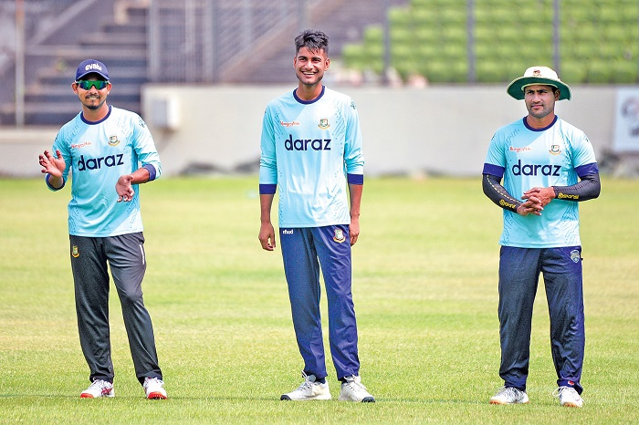 Preliminary members gear up for ODI series