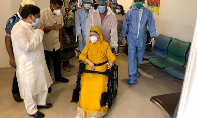 Khaleda Zia may return her residence by next Thursday
