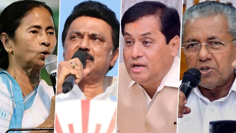 LDF crosses majority mark in Kerala, BJP in Assam