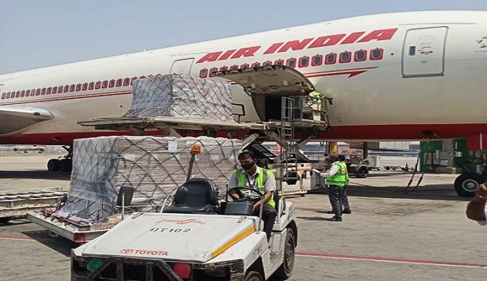 More Covid-19 international aid lands in India