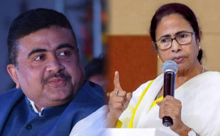 West Bengal election result: TMC leads in 206, Mamata leads Nandigram