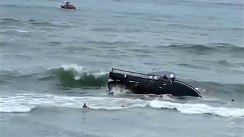 3 killed, 27 hospitalised after boat capsizes off San Diego