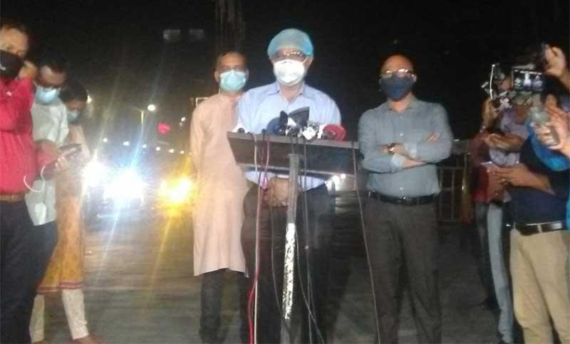 Khaleda Zia breathing normally