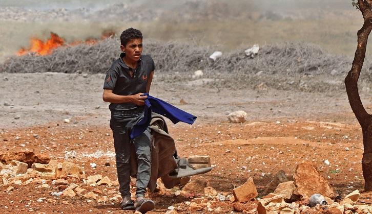 Blast in Syria's Idlib hits jihadist arms depot, kills 3
