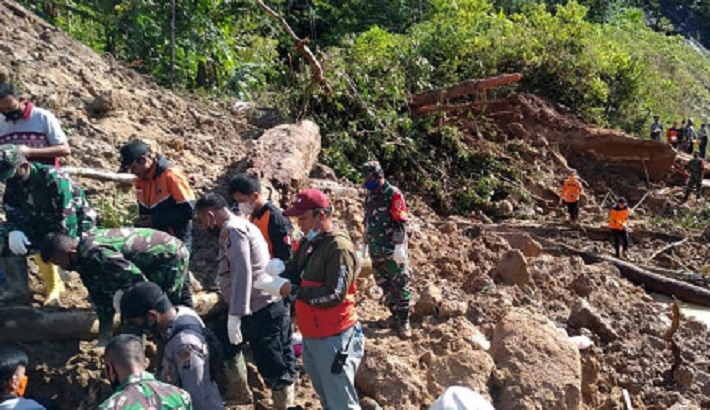 Landslides at controversial China-funded Indonesian dam kill at least three people