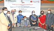 Agrani Bank, Pran Dairy open supply chain finance programme