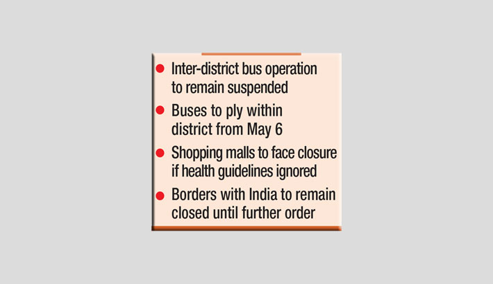 Lockdown extended until May 16