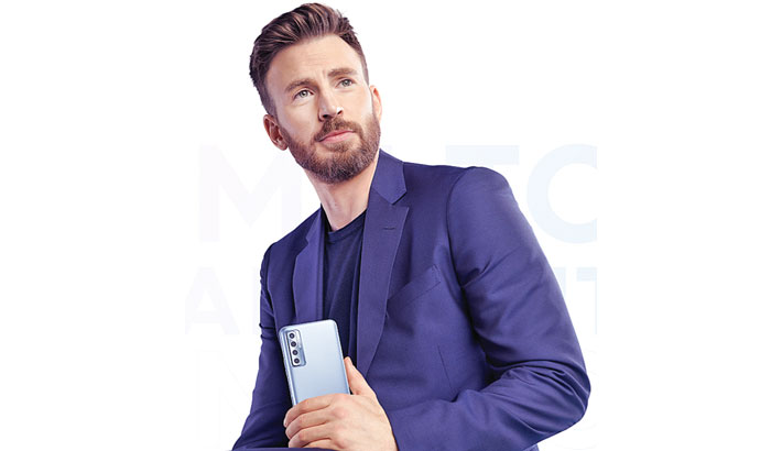 Chris Evans becomes TECNO brand ambassador