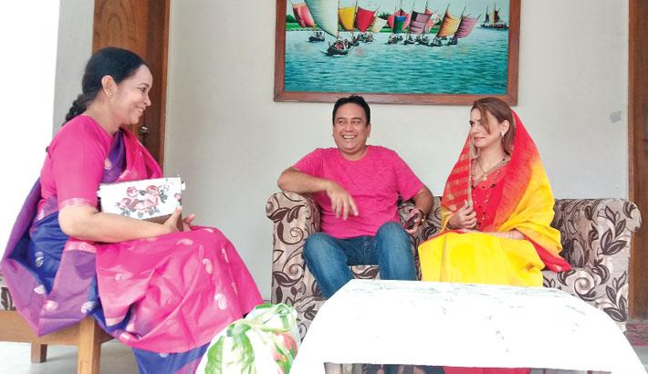 Zahid Hasan, Mantasha in 'Bura Jamai 2'