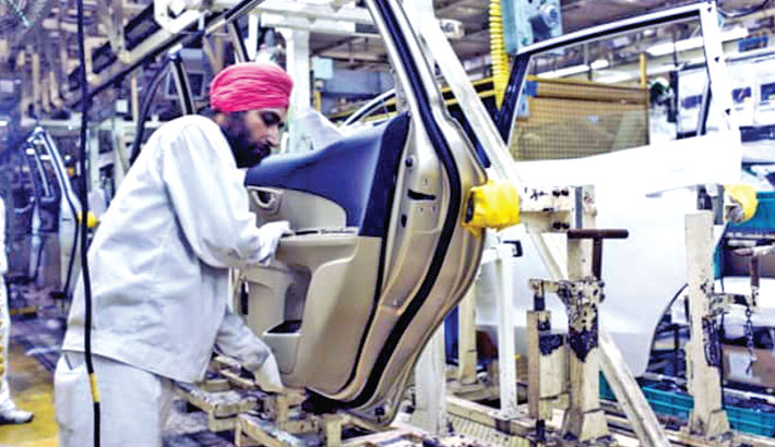 India's factory orders rise at slowest rates in 8 months in April: PMI