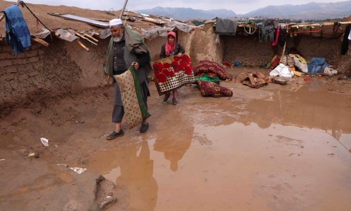 At least 12 killed in floods in western Afghanistan