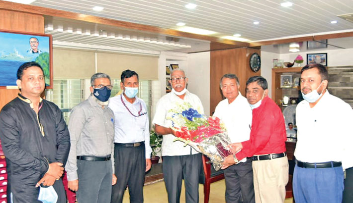 A courtesy call on Khulna City Corporation