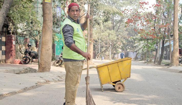 'Kallu Sweeper' Mosharraf Karim