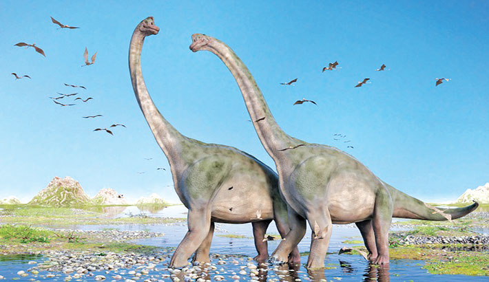100 million-year-old bones of dinosaurs discovered