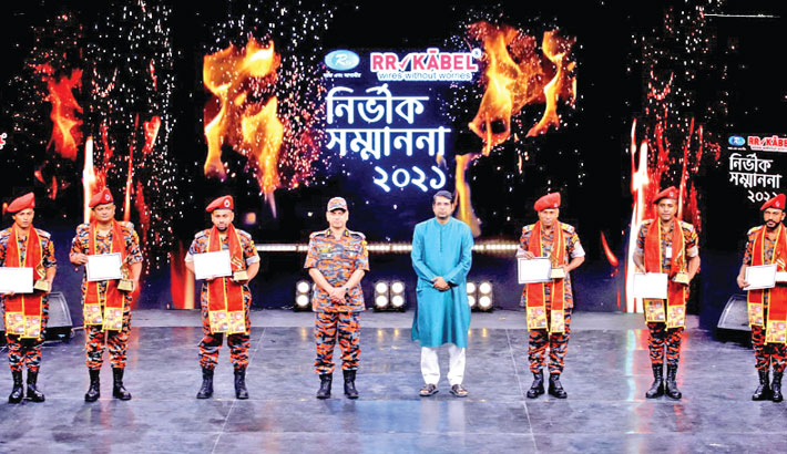 At a programme in the capital on Tuesday, marking the World Fire Fighters' Day
