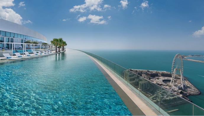 Address Beach Resort: The world's highest infinity pool has opened in Dubai