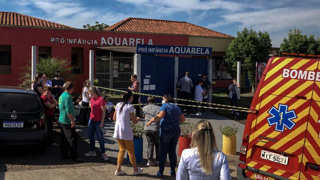 Knife attack at Brazil daycare kills three children, two staff