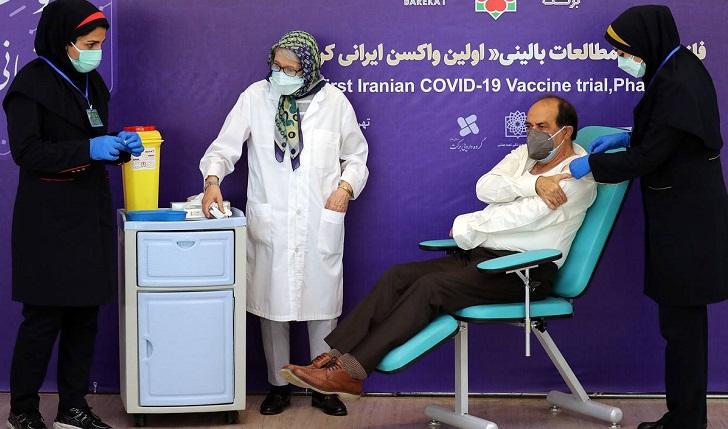 Iran successfully tests domestic coronavirus vaccine on humans