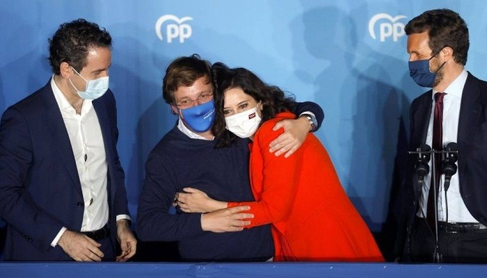 Madrid election: Isabel Díaz Ayuso re-elected in bitter Spanish vote