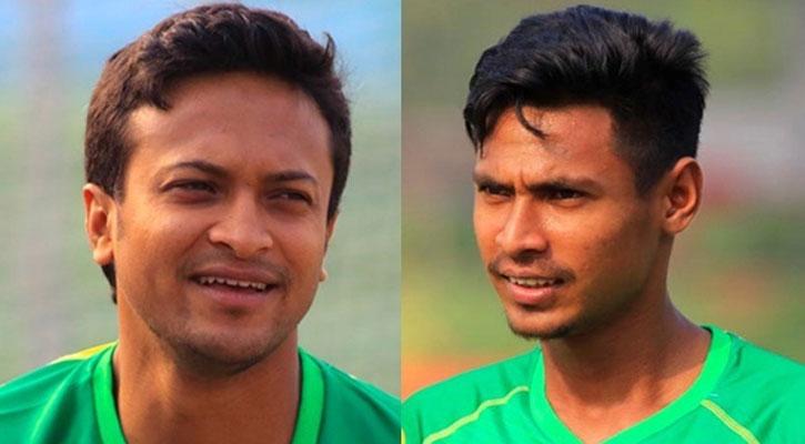 Shakib, Mustafizur leave India for Bangladesh via chartered flight