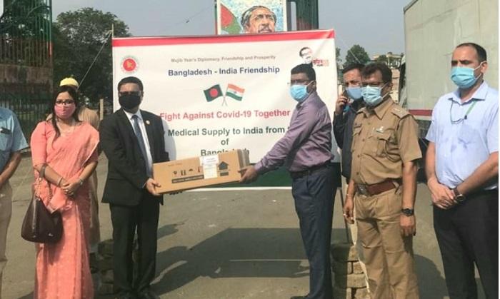 10,000 vials of Remdisivir injection handed to Indian govt