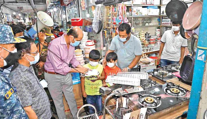 Shopping malls to be shut if health rules ignored: Atiq
