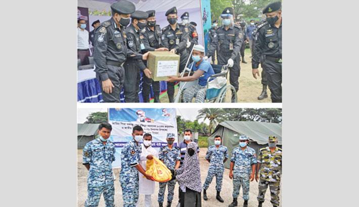 BAF continues humanitarian assistance