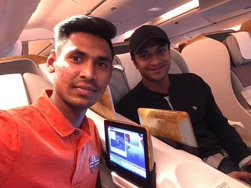 Shakib, Mustafiz arrive home safely from India