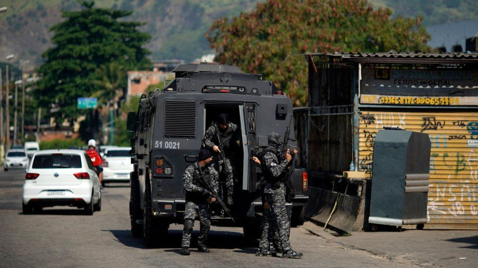 At least 25 killed in shootout in Brazilian capital
