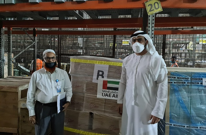 UAE provides 50 Metric Tons humanitarian food aid to Bangladesh