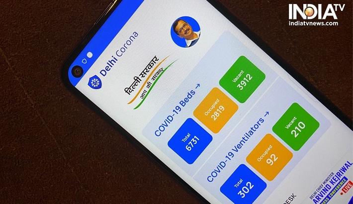 'Delhi Corona' app shows hospitals' oxygen availability status
