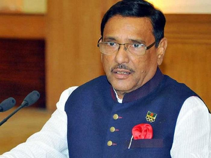 Quader urges BNP to shun politics of blame game over COVID-19