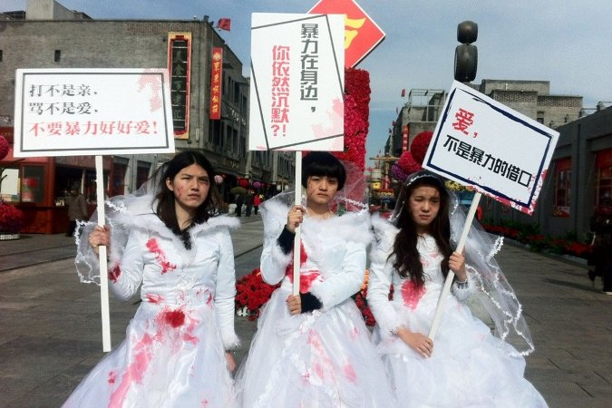 Feminism in China dates to communist revolution but today activists feel squeezed by the state