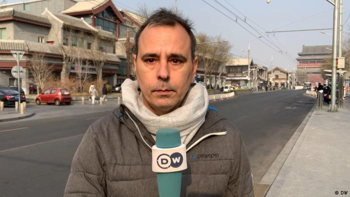 DW reporters in China: Documenting the erosion of fundamental rights