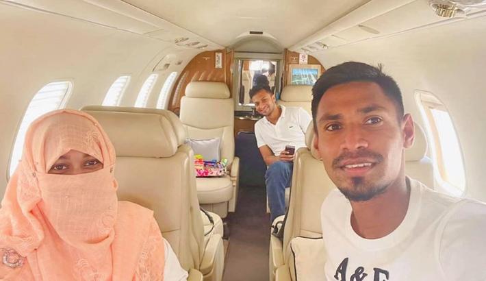 Shakib, Fizz return home