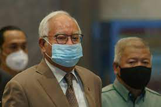 Malaysian ex-PM Najib fined for breaking virus rules
