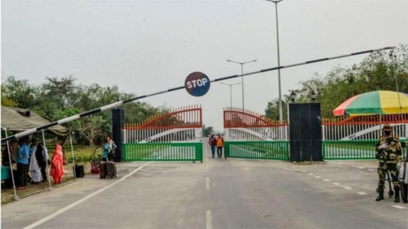 Closure of land border with India extends for 14 days