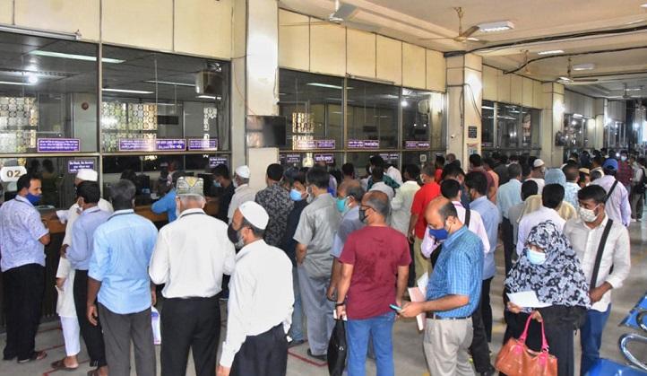 Daily transactions hit record Tk 105b