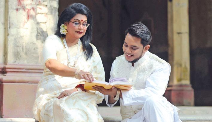Bannya's music video marking Tagore's birth anniversary