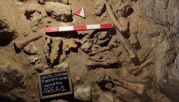 Neanderthal remains unearthed in Italian cave