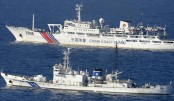 Japan Cost Guard Shot Chines vessel